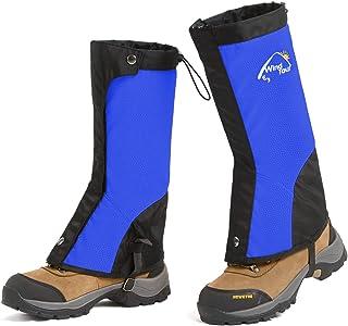 گیت ساق پا ضد آب ، پلی استر 600D در فضای باز ، گترهای سبک چکمه برفی مقاومت در برابر کوله پشتی ، کفش برفی ، پیاده روی ، شکار ، کوهنوردی ، اسکی