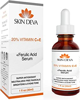 SKIN DEVA 20% Vitamin C and E with Ferulic acid, for acne