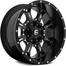 Fuel Offroad Wheels D517 20x12 Krank 8x6.5 NB4.75 -44 125.2 Black Milled