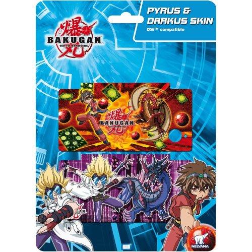 BAKUGAN AWG80819 – AWG Pyrus & Darkus – DSi Skin