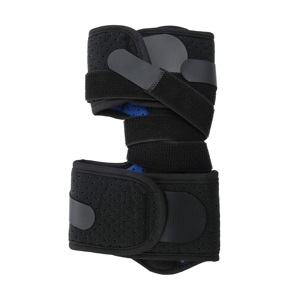 Ortesis ortopédica para caída de pie, soporte para la articulación del tobillo, soporte para fracturas, para tratar la caída del pie Reposapiés para el empeine Una corrección de pie