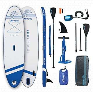 """Aquaplanet SEEKER SUP Inflatable Stand Up Paddle Board Kit 