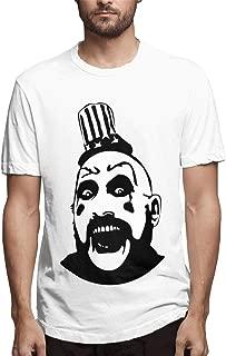 Cuizongtan Captain Spaulding - Monsters and Madmen Men's Soft Short Sleeve Tee White