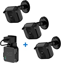 Blink XT2 Wall Mount Bracket, 3 Pack 360 Degree Weather Proof Housing with Blink Sync Module Outlet Mount for Blink XT2/XT Indoor Outdoor Cameras Security System, No Messy (Black).