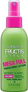 Garnier Fructis Full & Plush Mega Full Thickening Lotion, 5 oz (Pack of 5)