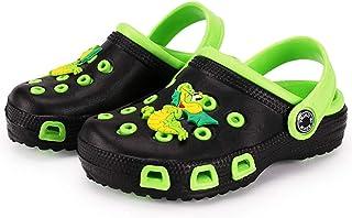Vorgelen Zuecos Unisex Niños Verano Sandalias de Playa Respirable Antideslizante Piscina Jardín Zapatos Tallas 23-34 EU