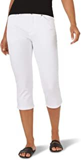 Women's Sculpting Slim Fit Mid Rise Capri Jean