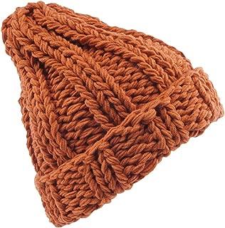 Wiwsi Women Ladies Winter Baggy Beanie Knitted Crochet Ski Hat Slouch Skull Cap