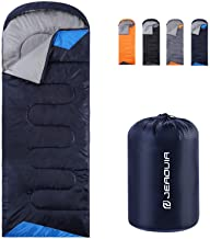 Sleeping Bags for Adults Backpacking Lightweight Waterproof- Cold Weather Sleeping Bag for Girls Boys Mens for Warm Camping Hiking Outdoor Travel Hunting with Compression Bags