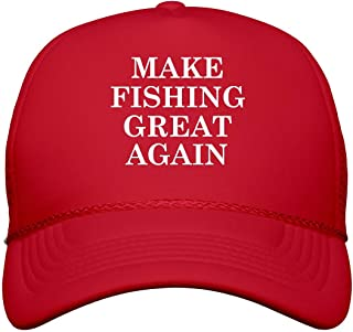 Make Fishing Great Again: Snapback Trucker Hat