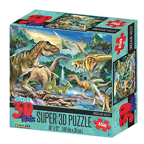 Howard Robinson HR10806 Super 3D Dinosaur Valley Puzzle (Pezzi)