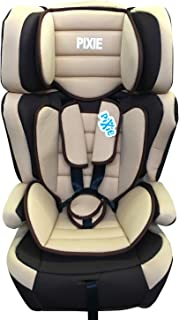 Pixie 3 in 1 Child Car Seat with foldable holder,(Beige), Piece of 1