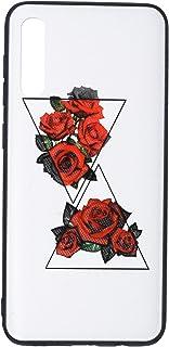 جراب خلفي رفيع ثلاثي الابعاد بطبعة زهور لموبايل سامسونج جالاكسي A50S من بوتر - متعدد الالوان