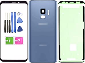 Ubrokeifixit Compatible Front Outer Lens Glass Screen Rear Panel Back Cover Replacement for Samsung Galaxy S9 5.8