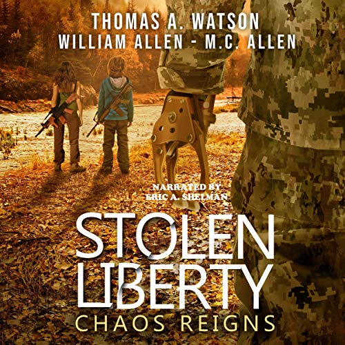 Stolen Liberty: Chaos Reigns cover art