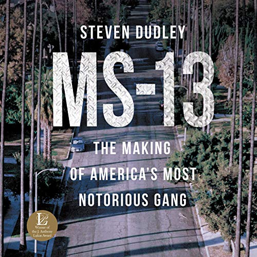 MS-13 audiobook cover art