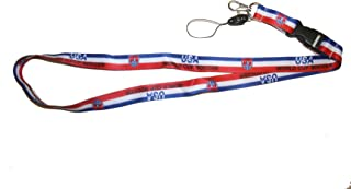 USA World Cup Soccer Lanyard Keychain Passholder .. 24 Inches Long.. New