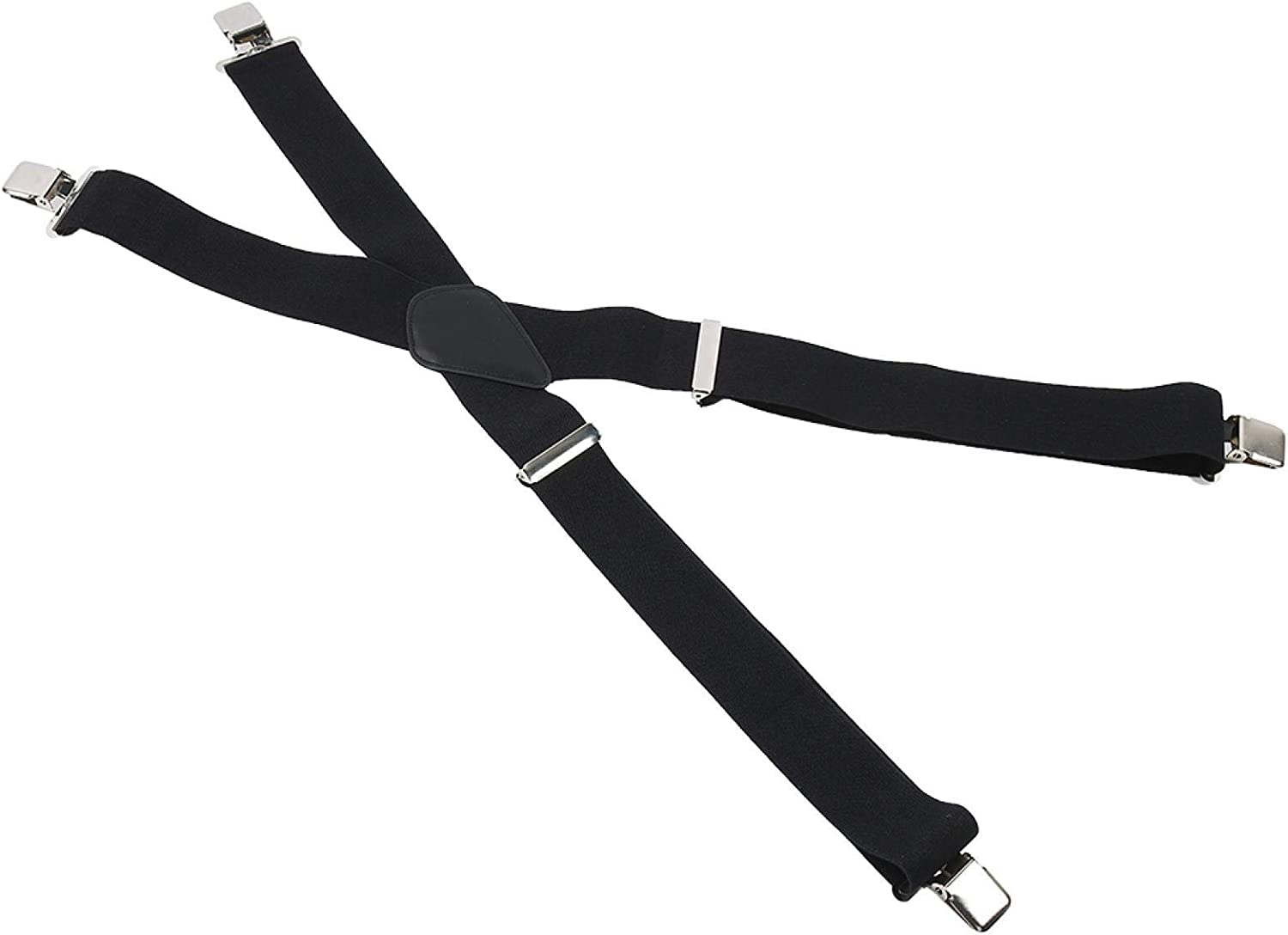 Chiciris 50Mm Lightweight Men'S Wide Suspenders, XBack Suspenders, Thick And Soft Dress Pants For Home Trousers Jeans School Boys