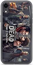 Gryss Compatible with iPhone 7 Plus/8 Plus Case TWD Zombie Characters Road to Survival Action Fantasy Game Pure Clear Phone Cases Cover