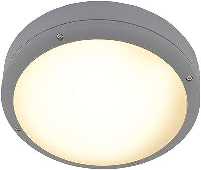 Naeve Leuchten Lámpara de techo, 18 W, blanco cálido