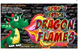 Mystical Fire Dragon Flames Flame Colorant Vibrant Long-Lasting Pulsating Flame Color Changer for Indoor or Outdoor Use 0.882 oz Packets 12 Pack