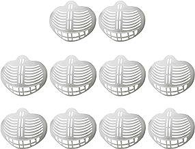 Staright Suporte para máscara 3D 10pcs Suporte interno para máscara para proteção de boca e nariz Batom para aumentar o es...