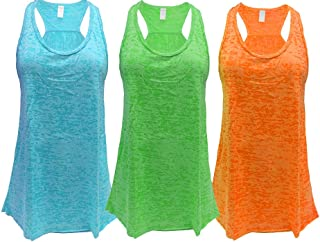 Epic MMA Gear Flowy Racerback Tank Top, Regular and Plus Sizes, Pack of 3