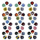 Harilla Alette per Freccette Standard, Confezione da 60 Pezzi