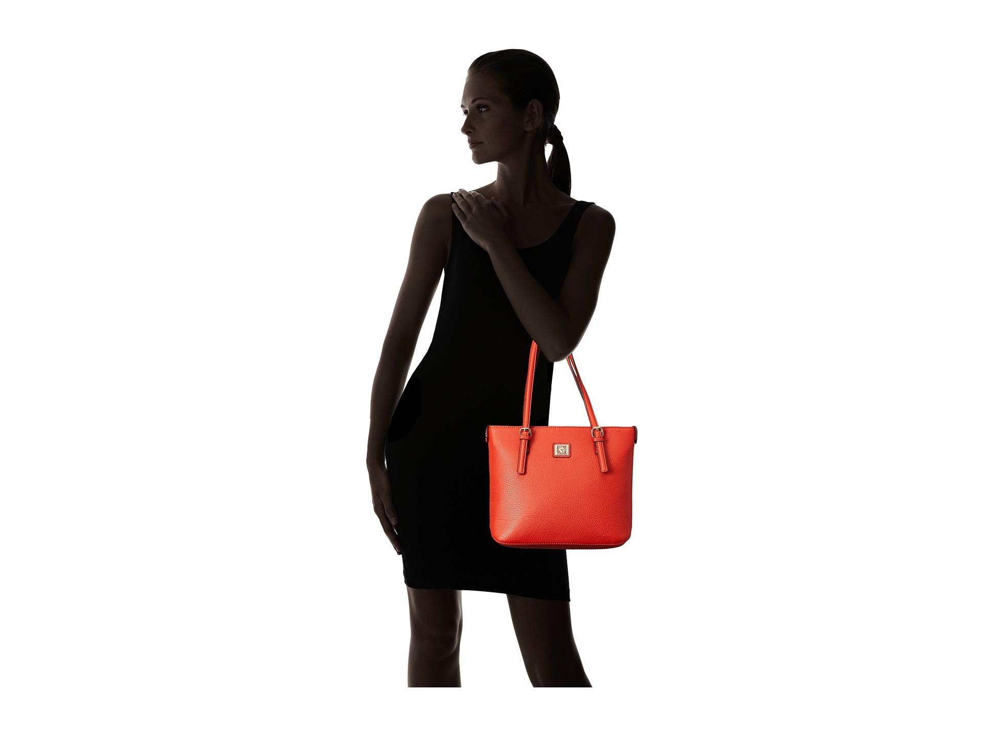 Anne Small Red Tango Klein Perfect Shopper Tote ZqwaxZr