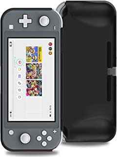 Nintendo Switch Lite ケース SHINEZONE Nintendo Switch Lite 耐衝撃 指紋防止 超薄型 超耐磨 軽量 Nintendo Switch Lite PC 素材カバー(Nintendo Switch Liteケース ブラック)
