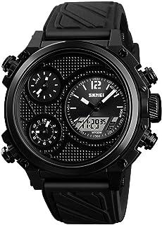 Men'S Electronic Watch, Digital Analog Sports Watch Men'S Waterproof Electronic LED Military Digital Watch With Stopwatch ...