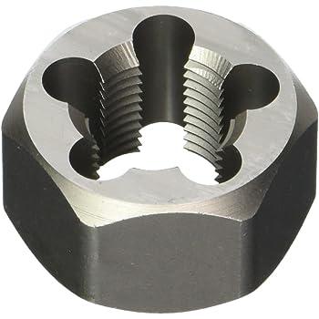 Die 3//8-24 Hrt Hanson Irwin Tools 7236 Irwin High Carbon Steel Re-Threading Fractional Hexagon Dies