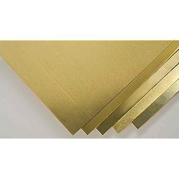 Brass Roll 0.0020 in 6 in Shim Stock