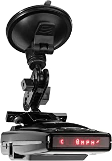 PerformancePackage SuctionMount Radar Detector Clamping Suction Cup Mount - Escort Redline, 9500iX, 9500i, 8500i X50