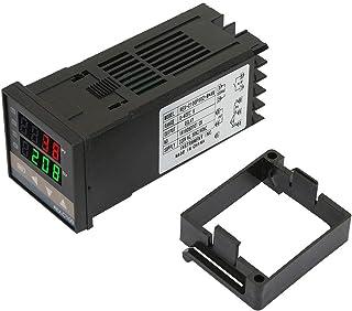 Suchinm Regulator temperatury PID, REX-C100FK02 cyfrowy regulator temperatury PID, cyfrowy termostat do opakowań formowany...