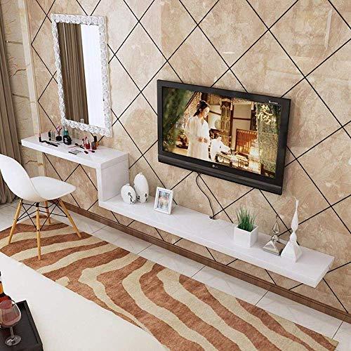 MultifuncióN Estante de TV montado en la pared Estante flotante Foto Estante de exhibición de juguetes Set Top Box Router Reproductor de DVD Sky Box Estante de almacenamiento Estante de pared Estanter