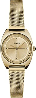 Milano Petite Quartz Movement Gold  Dial Ladies Watch TW2T37600