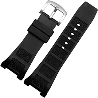 Choco&Man US IWC Ingenieur Replacement Watch Band Rubber Belt Silicone mounting Width 30mm with Tool
