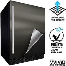 VViViD Architectural Adhesive Metallic Satin Finish Vinyl 24 Inch x 60 Inch Roll (Matte Metallic Charcoal Grey)
