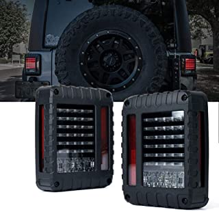 jeep jk smoked tail lights