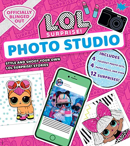 L.O.L. Surprise! Photo Studio: (L.O.L. Gifts for Girls Aged 5+, LOL...