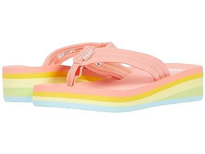 Reef Kids Ahi Wedge (Toddler/Little Kid/Big Kid) (Bleached Neo) Girls Shoes