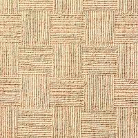 壁紙屋本舗 補修 壁紙 A4サイズ 質感 色味チェック SEB-2064 市松模様 茶色 ブラウン 和柄 和調 和室