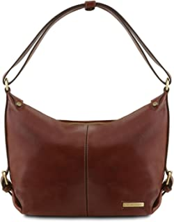 Sabrina - Leather hobo bag - TL141479
