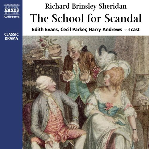 The School for Scandal audiobook cover art