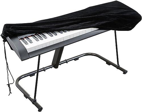 Housse de protection pour Clavier piano 61 touches, Clavier électronique Couverture anti-poussière pour Synthétiseur ...
