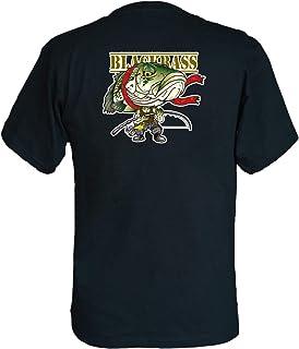 フィッシングTシャツ SAKANA☆FORCES ブラックバス03 バックプリント 黒