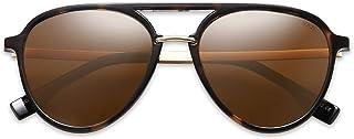 Oversized Polarized Sunglasses for Women Men Aviator Ladies Shades SJ2078