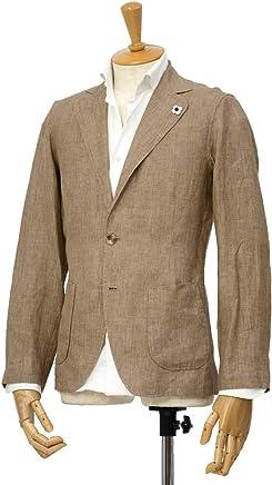 LARDINI【ラルディーニ】リネンシャツジャケット JPAMAJ/EGC1006/200 リネン ライトブラウン