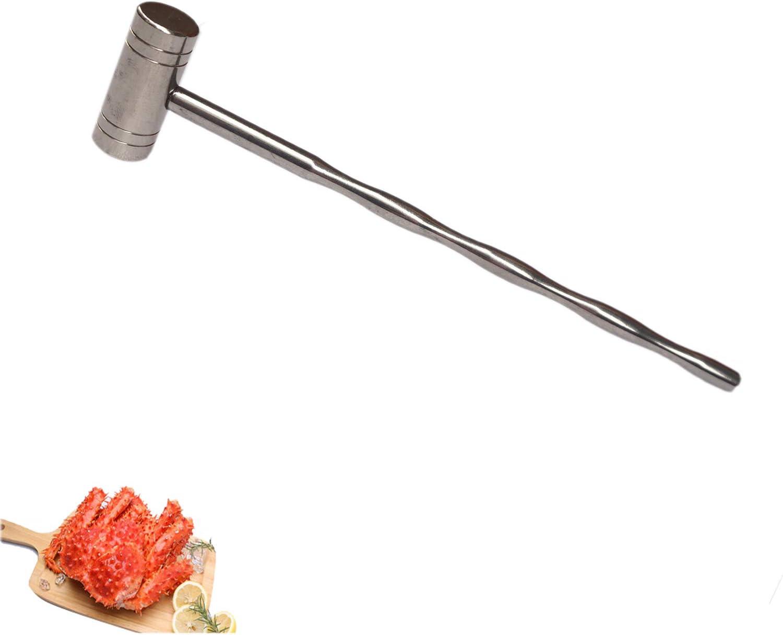 Stainless Steel Crab mallet Mini Regular store Sea Soild Hammer Lobster Gorgeous